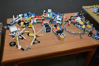 Photo: A variety of the fairground mixer prototypes