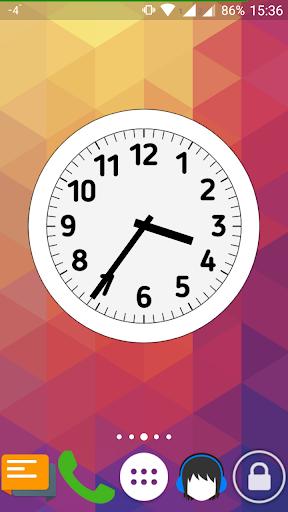uClock - Analog clock widget