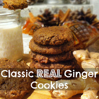 Food Babe's Classic Real Ginger Cookies!.