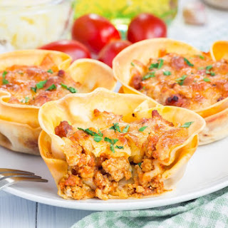 Slimming World Lasagne Cups in the Airfryer Recipe