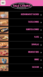 Taco Cabana screenshot 2