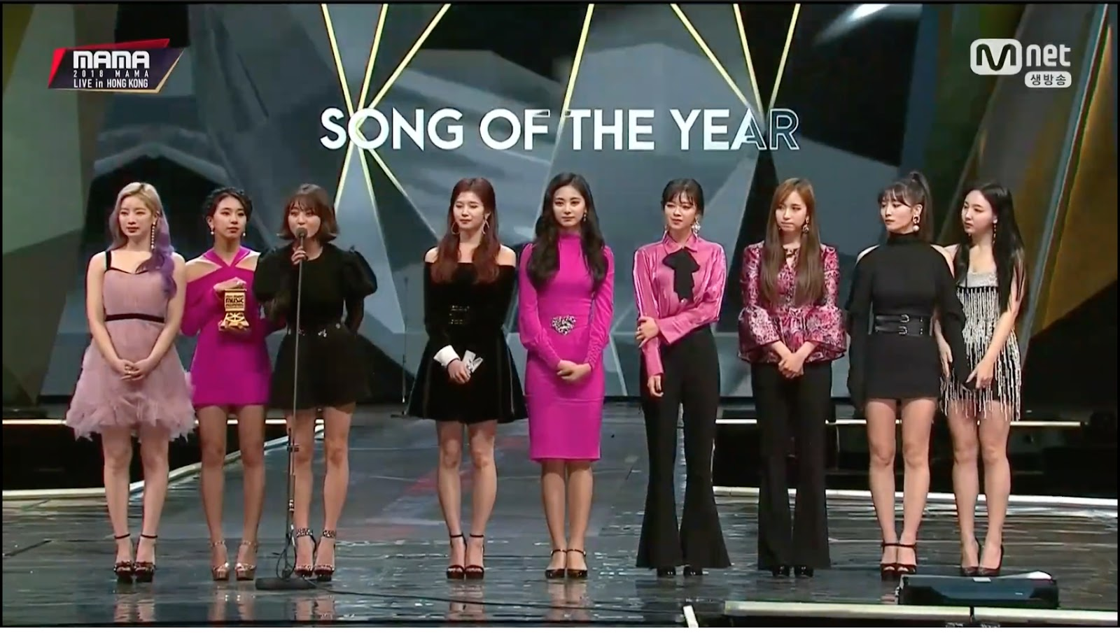 2018 mama winners hong kong 2