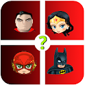 Guess the DC characters 💥 Superhero Quiz Free icon