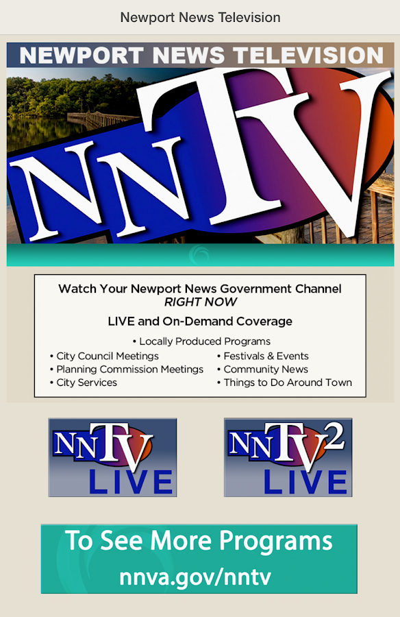NNTV: Newport News TV- screenshot