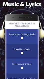 That's What I Like - Bruno Mars Songs & Lyrics - náhled