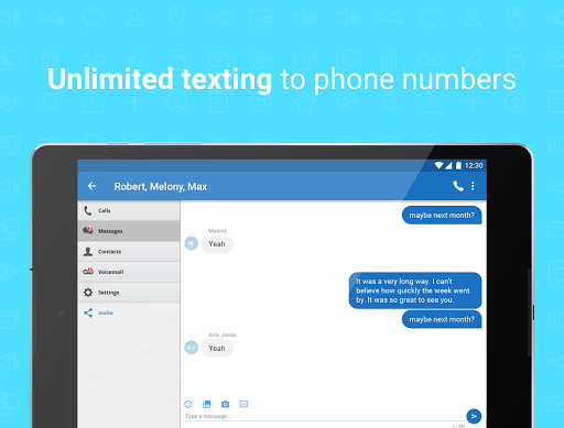 Talkatone: Free Texts, Calls & Phone Number 6.4.12 Screenshots 9