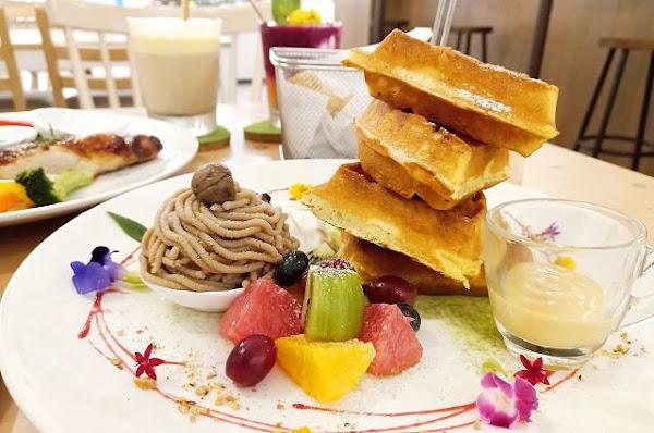 夏綠地咖啡Charlotte Cafe~~松山下午茶.中山國中站IG甜點店.餐點美味氣氛佳好吃又好拍
