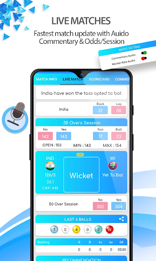 CricJoss™ - Cricket Live Line, Live Score & News ss3
