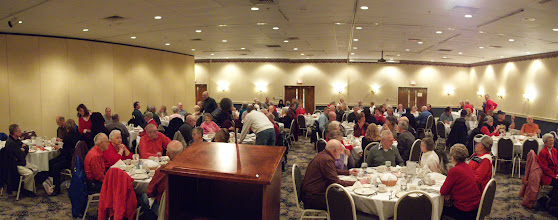 Photo: 2012 Winter Banquet at Yoder's.