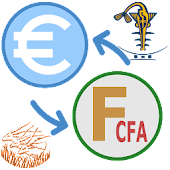 CFA Francs to Euros converter Icon