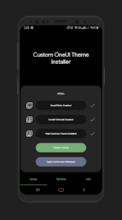 Custom Themes Installer for OneUI Pie *ALL* Screenshot