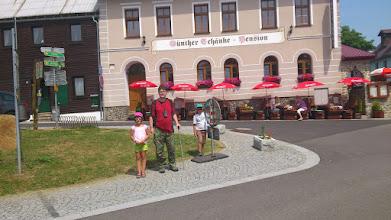 Photo: Nikola, Ondra a Martin OK1MJO na Bozim Daru