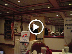 Video: Ruth introducing Sheriff Ben Johnson to our club on July 8, 2008