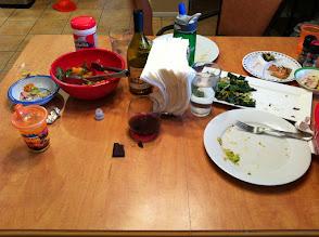 Photo: Yummy Dinner Aftermath