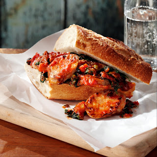 Tuscan-Style Sausage Sandwiches.