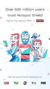 Hotspot Shield Free VPN Proxy & Wi-Fi Security 6.3.0 b63010 (Paid)