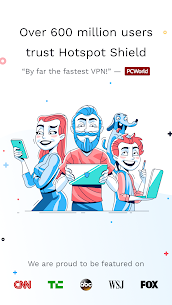 Hotspot Shield Free VPN Proxy & Wi-Fi Security [Mods][Premium] 1