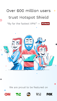 Hotspot Shield Free VPN Proxy & Wi-Fi Security