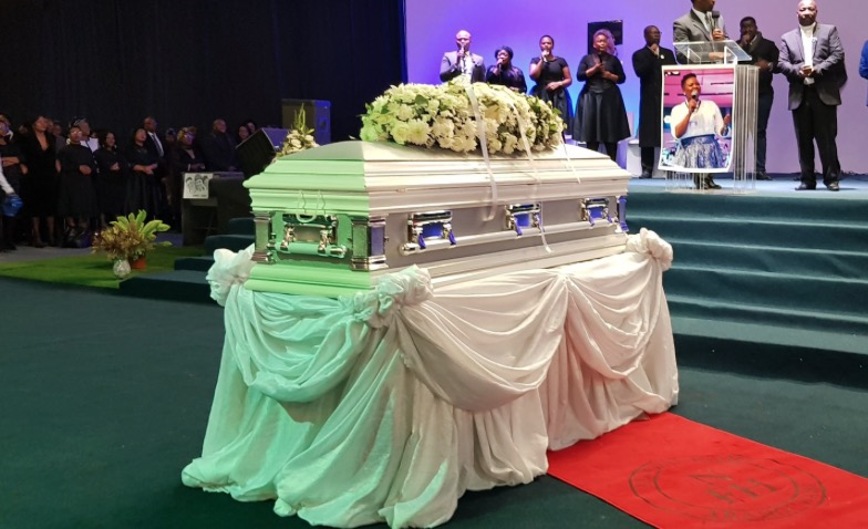 Siyasanga Kobese funeral: We release her into the heavens and bid her farewell