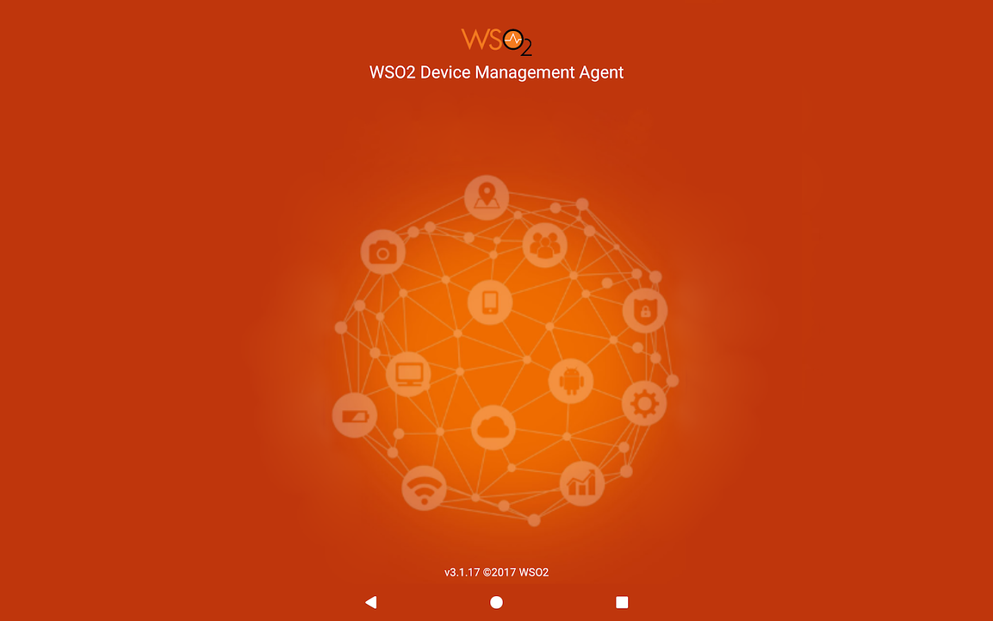 WSO2 Device Management Agent- screenshot