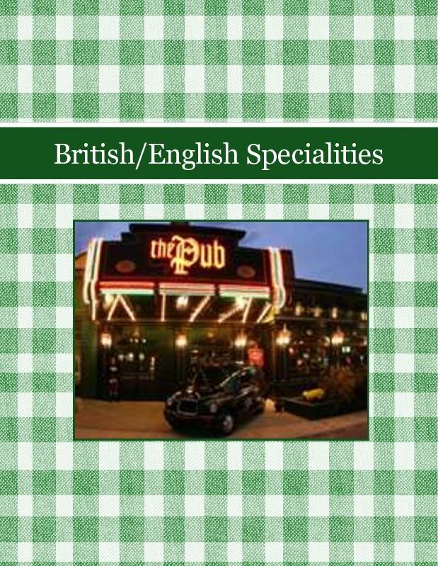 British/English Specialities