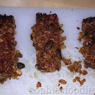 Crunchy Oats, Almonds & Pumpkin Seeds Bars