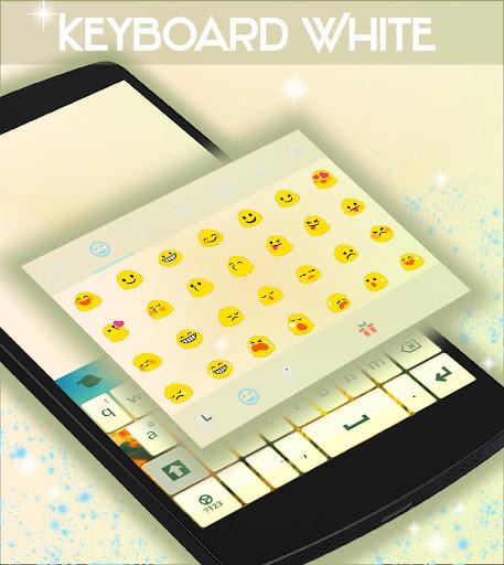 無料个人化Appのホワイトキーボード|記事Game