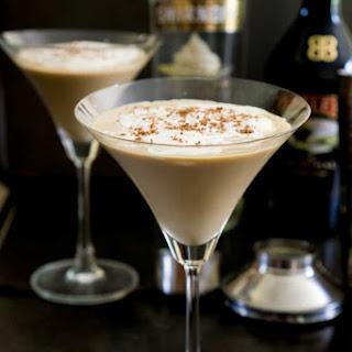 Mudslide Latte Cocktail.