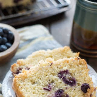 Blueberry Lemon Crumb Bread.
