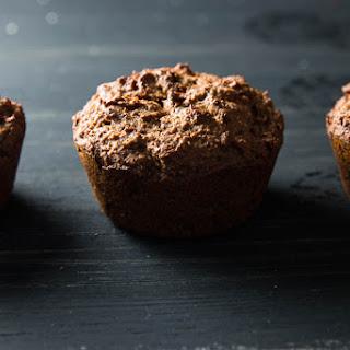 Vegan Multigrain Carrot Muffins.