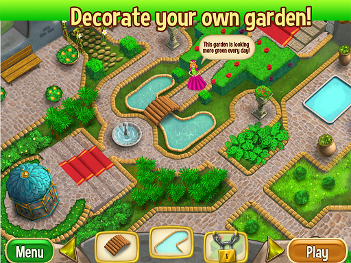 Queen's Garden screenshot 2
