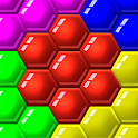 Color Match Puzzle - Fill the Hexa Board icon