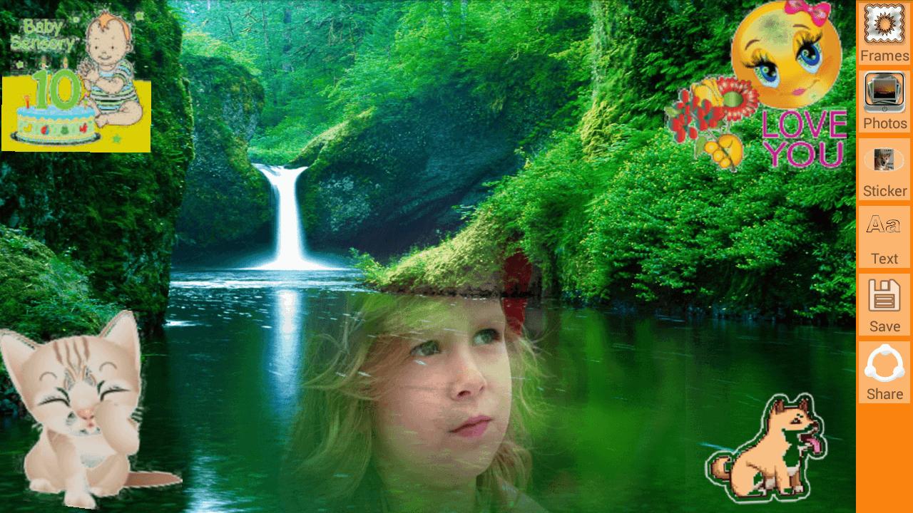 Wasserfall Fotorahmen – Android-Apps auf Google Play