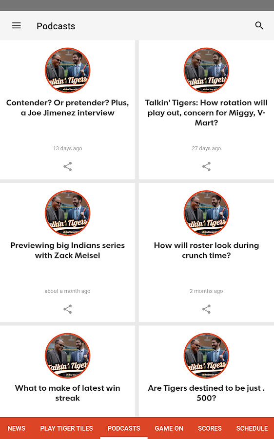 Tigers XTRA- screenshot