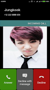 Call From Jungkook Prank - náhled