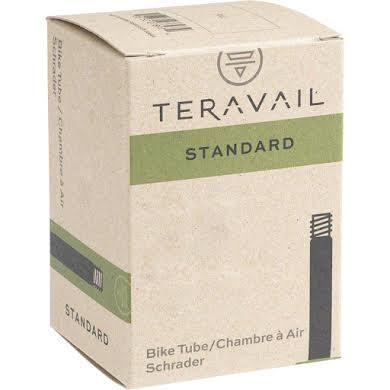 "Teravail 16"" x 1.25-1.5"" Schrader Valve Tube Low Lead Valve"
