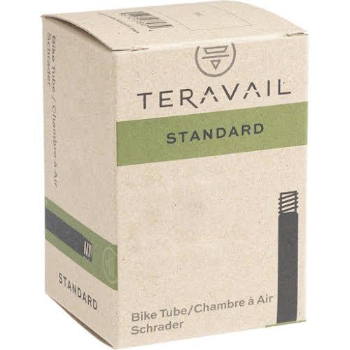 "Teravail 20"" x 3.50-4.50"" Tube: Low Lead Schrader Valve"