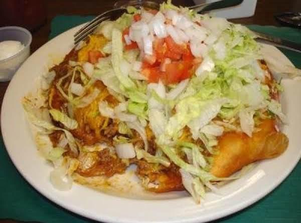 Navajo Bread And Navajo Taco Recipe