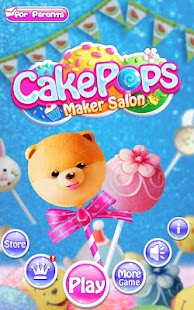 Cake Pops Maker Salon- screenshot thumbnail