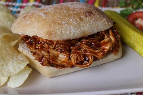 Honey Barbecue Chicken Sandwiches