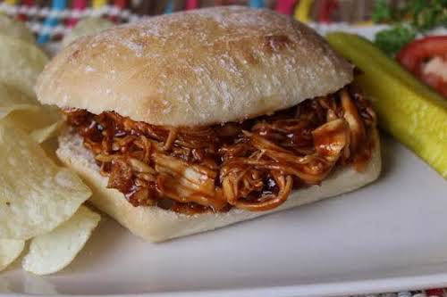 """Honey Barbecue Chicken Sandwiches""""This recipe is easy to double or even triple..."""
