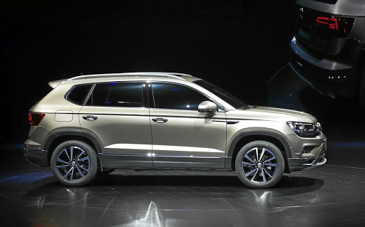 Volkswagen has revealed its Powerful Family SUV which is under consideration for SA.   Picture: SUPPLIED
