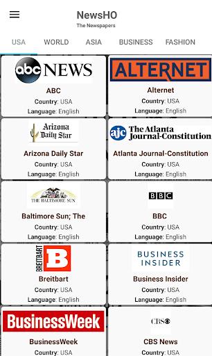 USA Newspapers - 80+ American English Newspapers screenshots 2