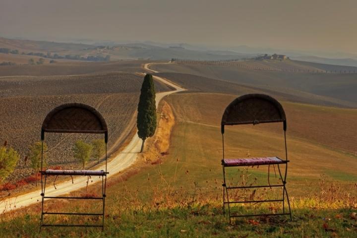 Toscana in autunno di Ticino-Joana