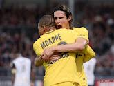 Na Kylian Mbappé en Neymar mist ook Edinson Cavani de clash met Real