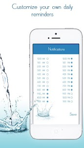 Daily Water Tracker Reminder – Hydration Log 5