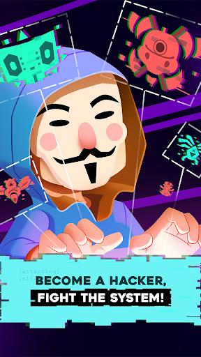 Hacking Hero - Cyber Adventure Clicker 1.0.3 screenshots 1