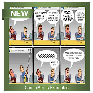 Comic Strips Examples