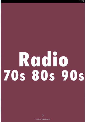 70s 80s 90s Radio