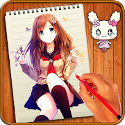 Learn to Draw Anime Manga by Buzz Apps Club icon